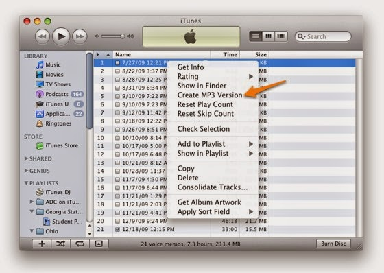 how to convert aac to mp3 without itunes