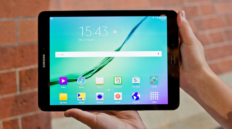 Play video on Galaxy Tab S