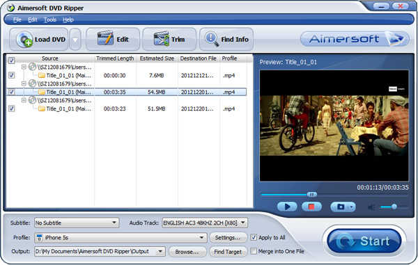 run dvd to nabi 2s converter