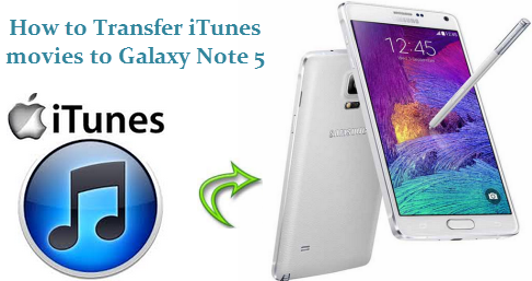 Transfer iTunes to Galaxy Note 5