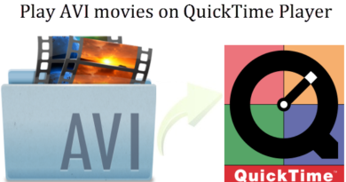 Play AVI on QuickTime